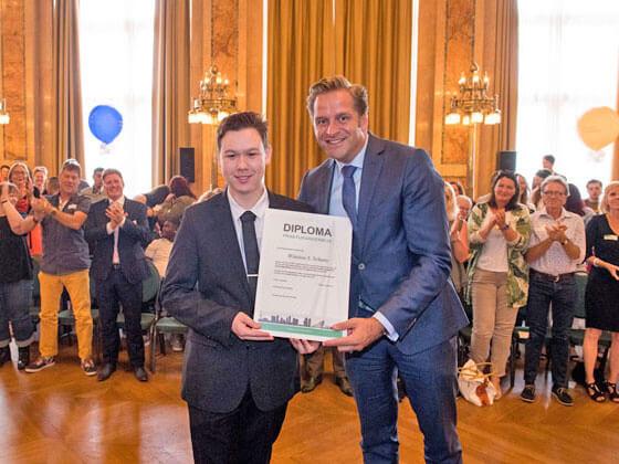 Leerlingen Accent Centrum ontvangen PRO Diploma