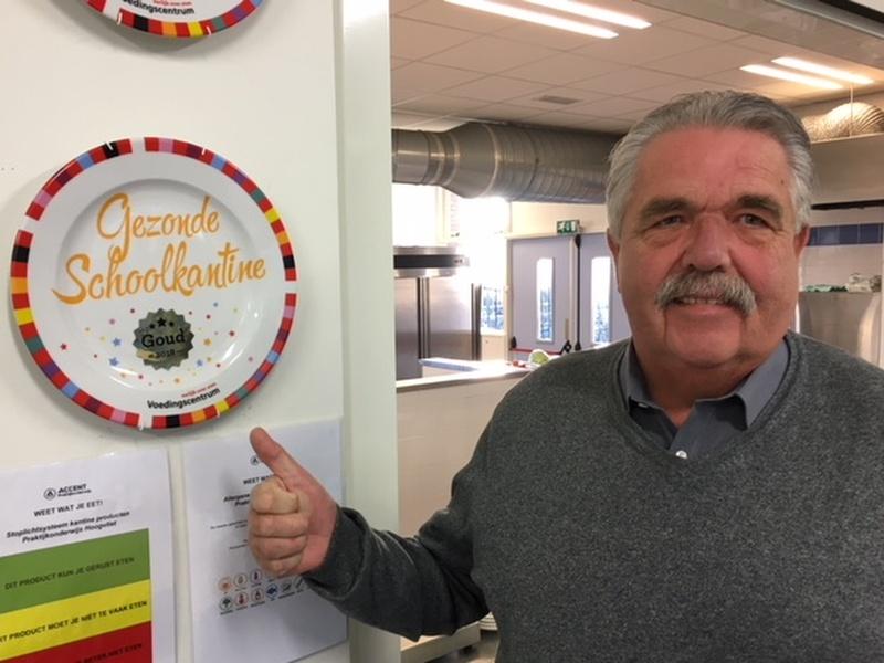 """""""Gouden Schoolkantine Schaal 2018"""" weer toegekend aan Accent Hoogvliet"""