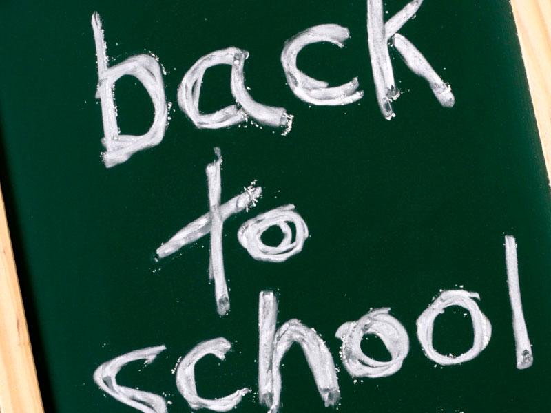 De school is weer begonnen, startgesprekken!